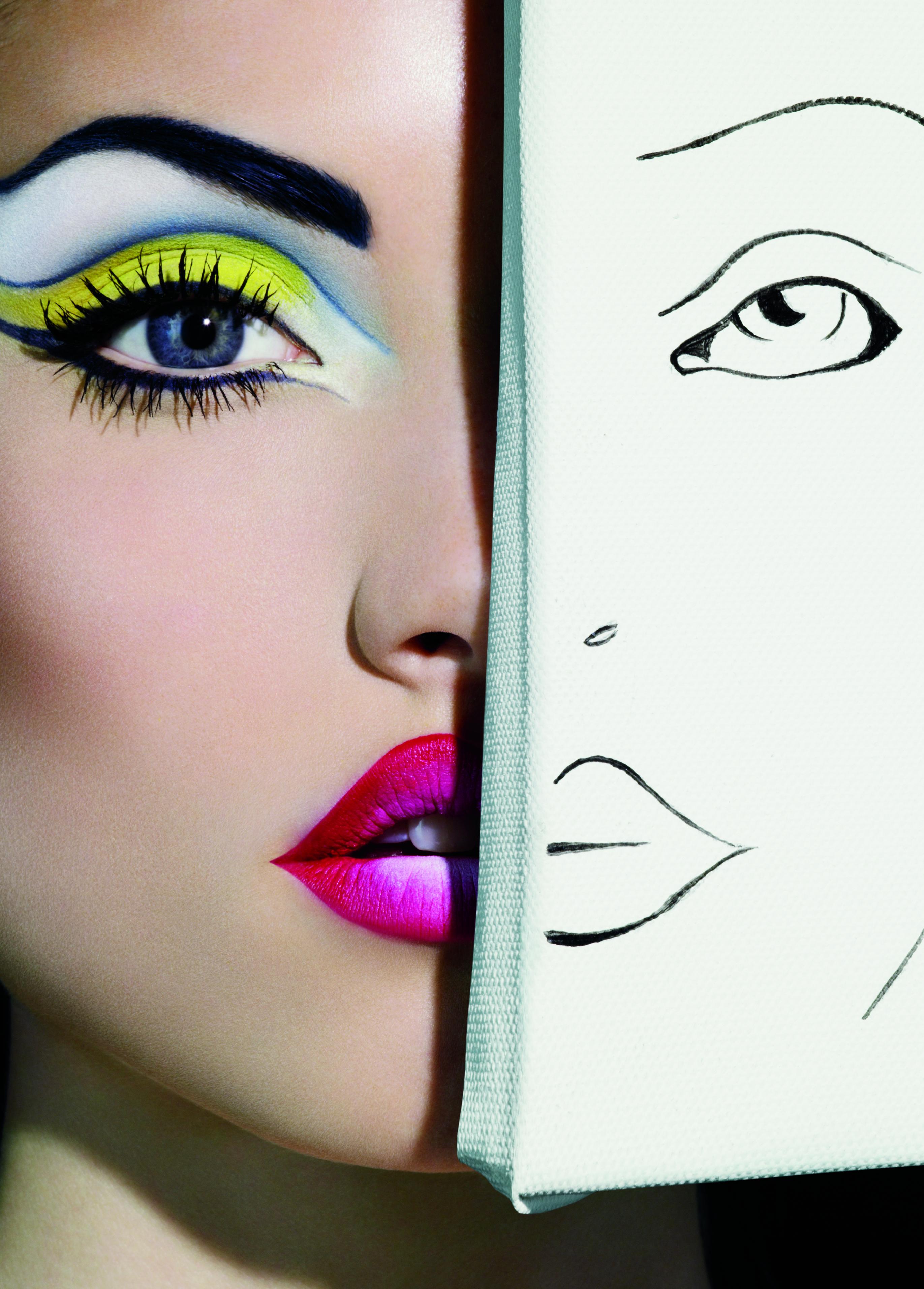 Рисунки на тему макияж
