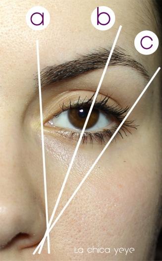 darle forma cejas shape eyebrows