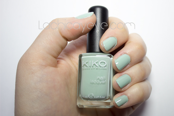 KIKO 345 Jade Green nail polish