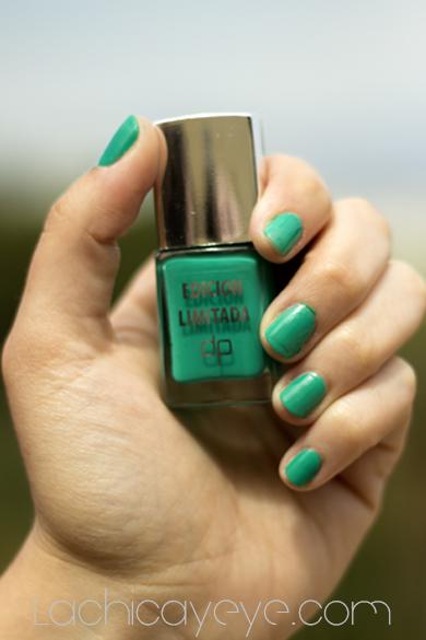 Nuevo esmalte de uñas deliplus 2013 Esmeralda