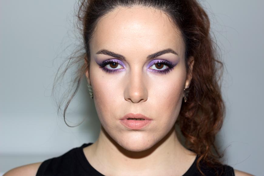 lilac eyes